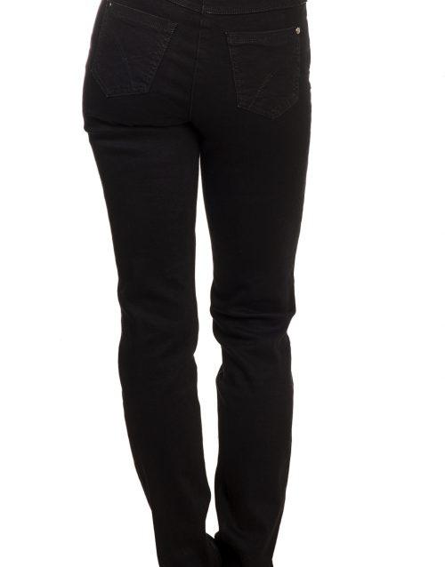 Musta värvi sirgelõikelised teksad Dallas 819