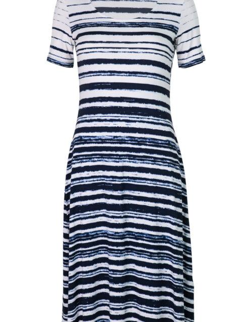Triibuline kleit Favete