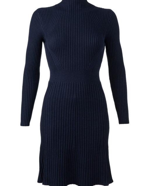 Tumesinine kootud kleit Bilbao